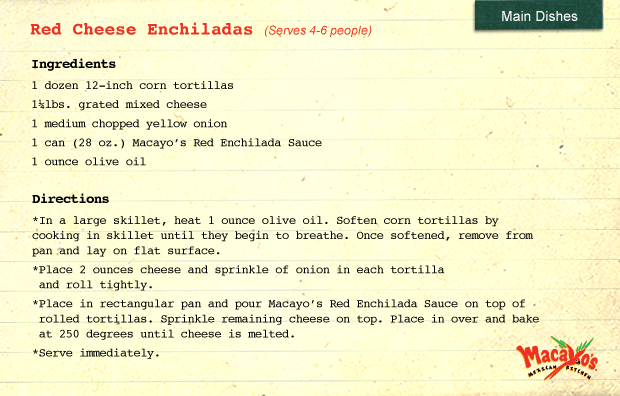 Cheese-Ench-Recipe